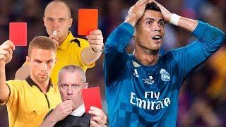 Зидан, Пепе, Рамос безумные поступки футболистов. Топ 10 удалений в футболе.