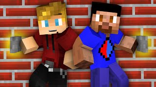 Minecraft Puzzle Map: FIND THE BUTTON with Vikkstar & Lachlan