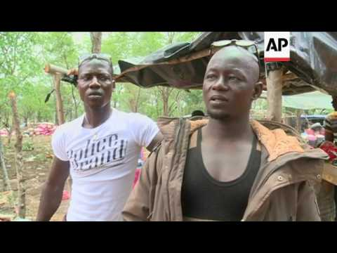 Illegal Gold Mines Operating In Ivory Coast