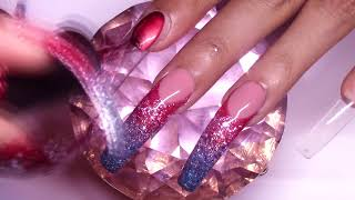 HOW TO: 4th of July Gel Nails Design