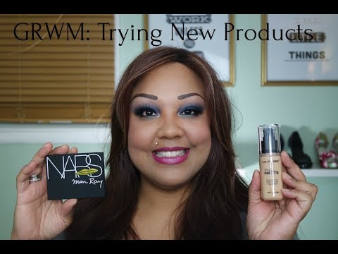 GRWM Using New Products