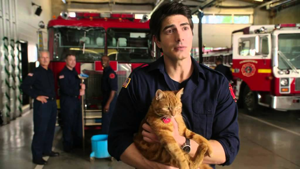 "Brandon Routh & Cast On Location - ""The Nine Lives of Christmas"" - YouTube"