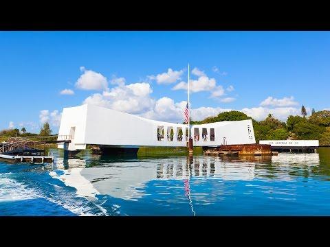 Pearl Harbor and USS Arizona Memorial - Oahu, Hawaii