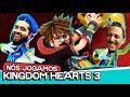 AS NOVIDADES DE KINGDOM HEARTS 3