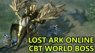 Lost Ark CBT Crazy World Boss & Deaths