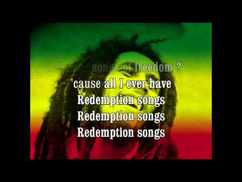 Bob Marley  Redemption Song + Lyrics HQ HD