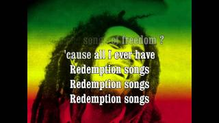 Bob Marley - Redemption Song + Lyrics HQ HD