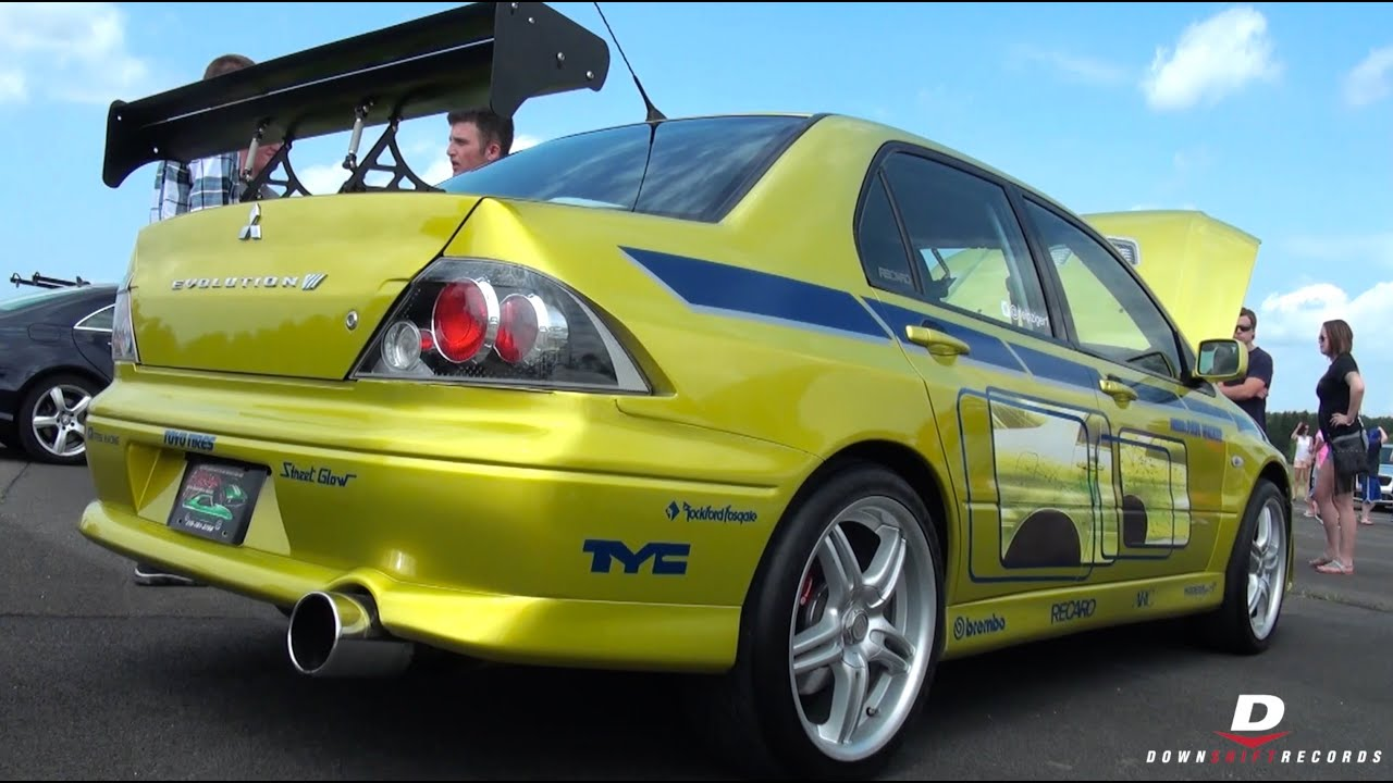 "paul walker's ""2 fast 2 furious"" mitsubishi evo - youtube"