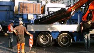 Lippstadt: Aufbau des Riesenrads