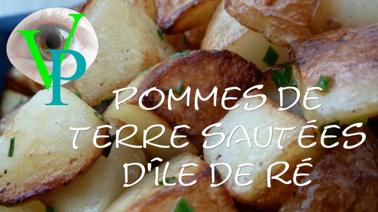Pommes de terre sautées d'île deRé