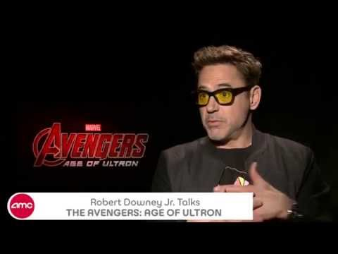 Robert Downey Jr Chats THE AVENGERS: AGE OF ULTRON