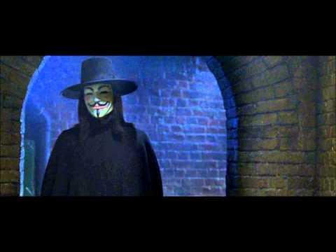 V Pour Vendetta - Première Rencontre (Scène Mythique)