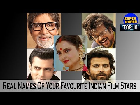 Real Names Of Your Favourite 16 Indian Film Stars - HD Latest 2018