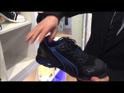 chaussures de securite puma look basket pour homme youtube. Black Bedroom Furniture Sets. Home Design Ideas