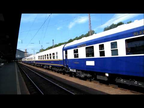 Special train in Hungary - Danube Express to Istanbul with the 418 110 engine
