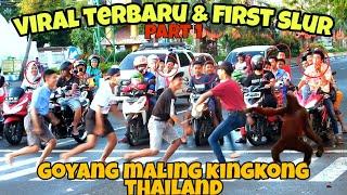 Download lagu JOGET MAL1NG KINGKONG THAILAND BIKIN PENGENDARA TERSIPU MALU || PRANK INDONESIA