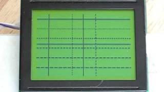 JP SerGLCD 128x64 Module Function Test