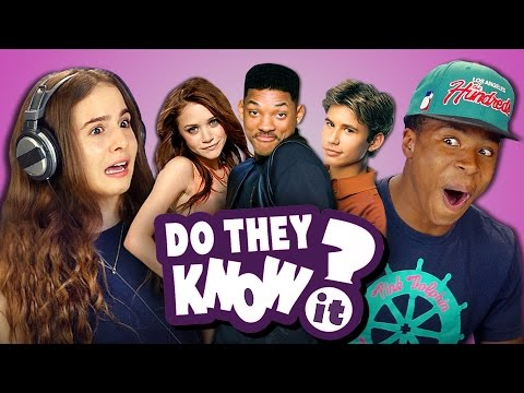 DO TEENS KNOW 90s SITCOMS? REACT: Do They Know It?