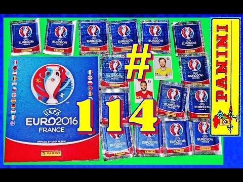 77 new PANINI Sticker UEFA FRANCE EURO 2016 PANINI Frankreich OFFICIAL video Lucky Bag ALBUM EM #114