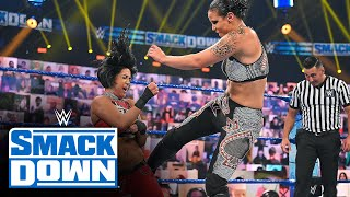 Nia Jax & Shayna Baszler vs. Bayley & Sasha Banks: SmackDown, September 4, 2020