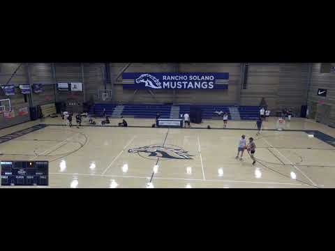 Rancho Solano vs. Sequoia Pathway Academy Varsity Womens' Volleyball