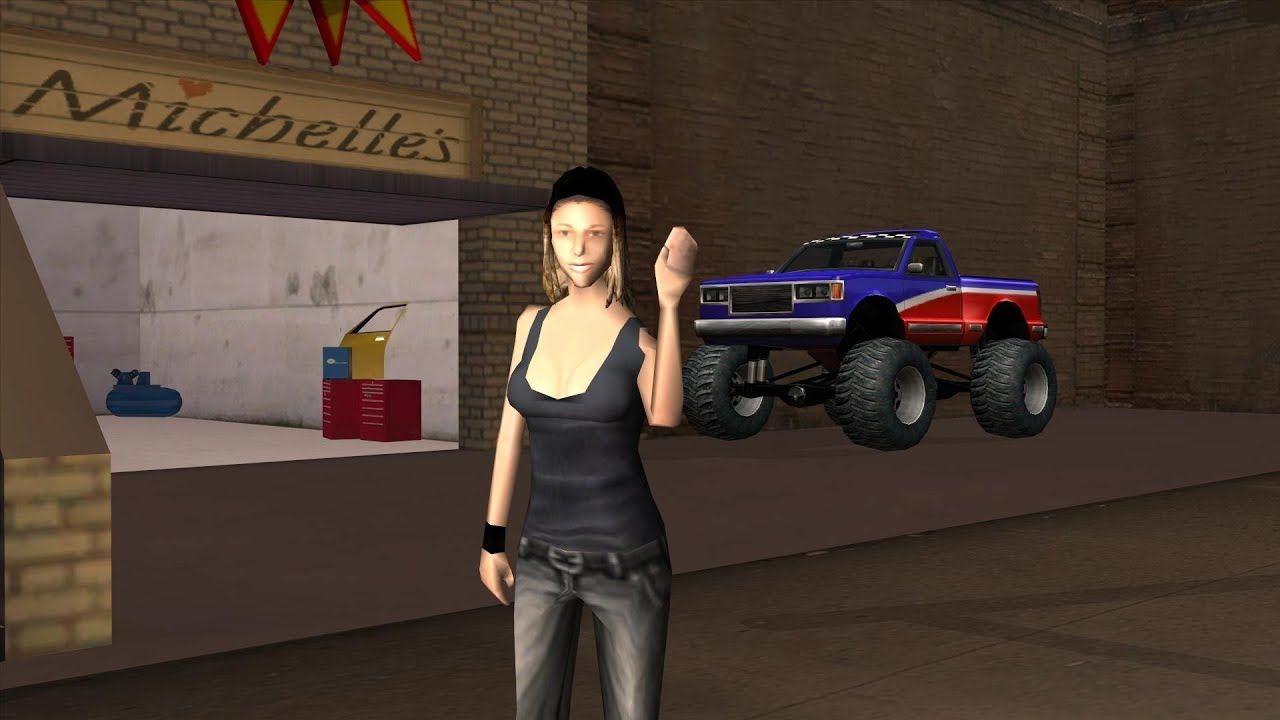 Gta san andreas dating michelle