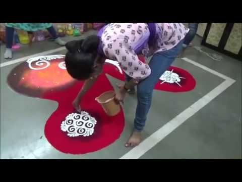 Makar Sankranti Special Rangoli Design Pongal Kolam