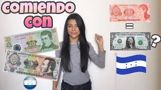 Un día comiendo con solo 25 lempiras en Honduras 🇭🇳 (1 dólar) - Karol Medina Vlogs