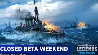 World of Warships Legends Beta Japanese Cruisers Naval Strategy Game Xbox / PS4 | Indoor Man Gaming