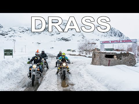 IT'S A RECORD |DRASS IN WINTERS | WINTER LADAKH RIDE | LEH TO KARGIL | EP - 4 |