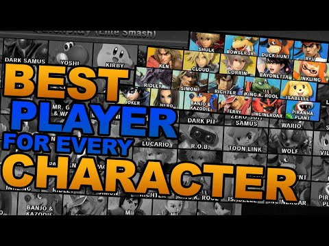 Best Player With Each Character In Smash Ultimate (#57 Shulk - #74 Terry)