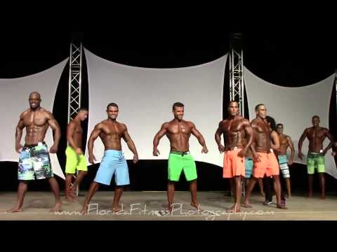 Mens Physique Division at Ft Lauderdale Cup 2014