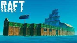 ФИНАЛ?!?!БРУТАЛЕН КОРАБ! | Raft #16