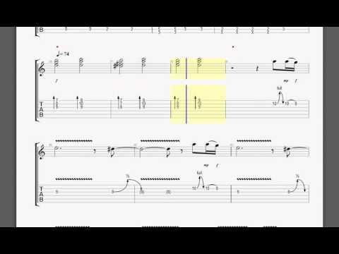 Metallica   No Leaf Clover S&M Kirk guitar tablature