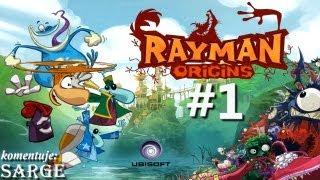 Zagrajmy w Rayman Origins odc. 1 - Świat 1 (Pokręcona Dżungla #1)