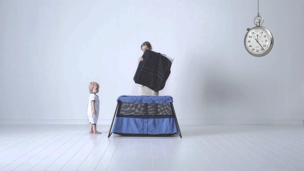 lit de voyage babybjorn youtube. Black Bedroom Furniture Sets. Home Design Ideas