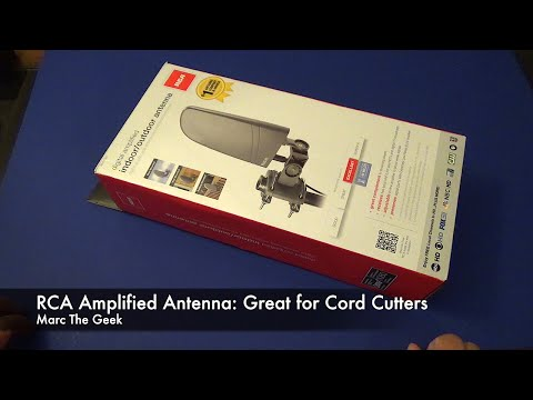 Rca Basic Indoor Antenna Ant111f Unboxing Setup And Re