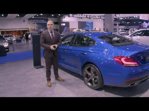 Exclusive Genesis G70 walk through and Q&A at the Montreal Auto Show | Genesis Motors Canada