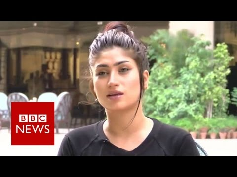 Qandeel Baloch: Pakistan's social media celebrity - BBC News
