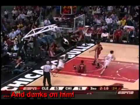LeBron James HUMILIATED by Luol Deng [OWNAGE]