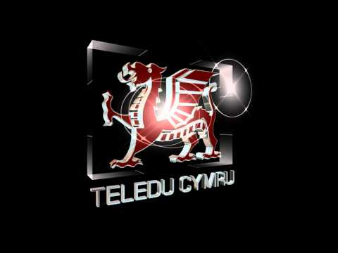 TV Ident Mock:- Teledu Cymru (Television Wales) 1988