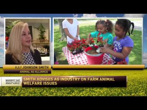 Kay Johnson Smith talks with RFD-TV (Women in Agribusiness Summit 2016)