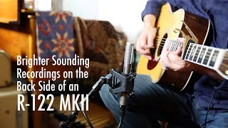 Brighter Sounding Recordings on the Back Side of an R-122 MKII