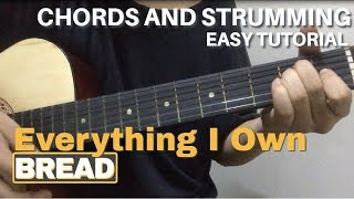 Everything I Own - Bread | Budakhel | Easy Guitar Tutorial