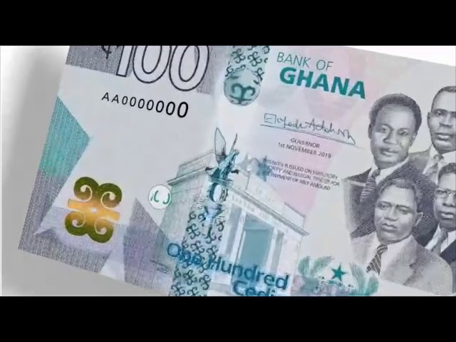 Bank Of Ghana (BOG)  Introduces New Cedi Denominations!