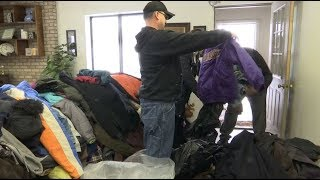 Crystal business on a mission to collect coats
