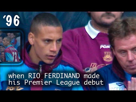 Rio Ferdinand Debut: As Premier League Sub With Frank Lampard