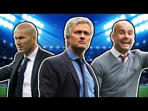 Top 10 Highest Paid Football Managers | Guardiola, Zidane & Mourinho!
