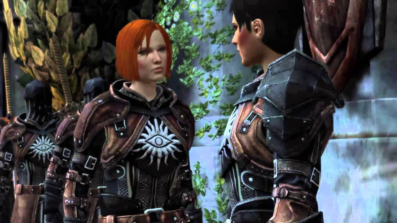 Dragon Age 2 End Scene Leliana And Cassandra