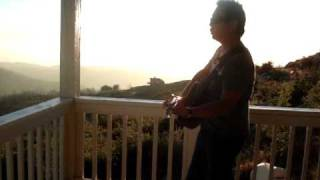 """""""PEACE IS THE ANSWER""""- TONY B REYES-""""Live"""" ACOUSTIC 12-STRING OVATION (Raw Video Recording)"""